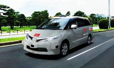 japonya sürücüsüz taksiler