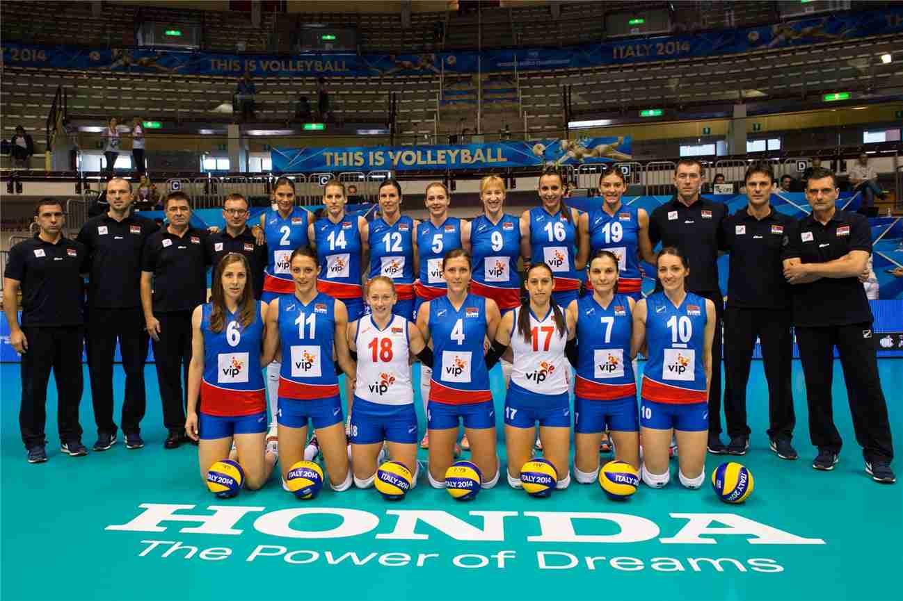 dünya voleybol şampiyonası sırbistan