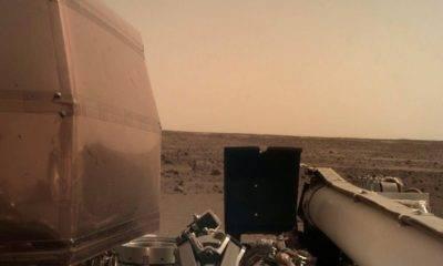 nasa insight mars rüzgar ses