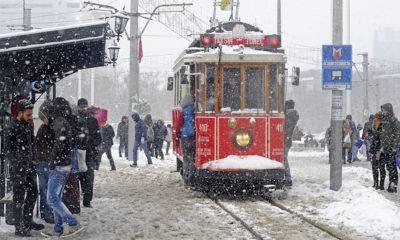 İstanbul Kar Uyarısı