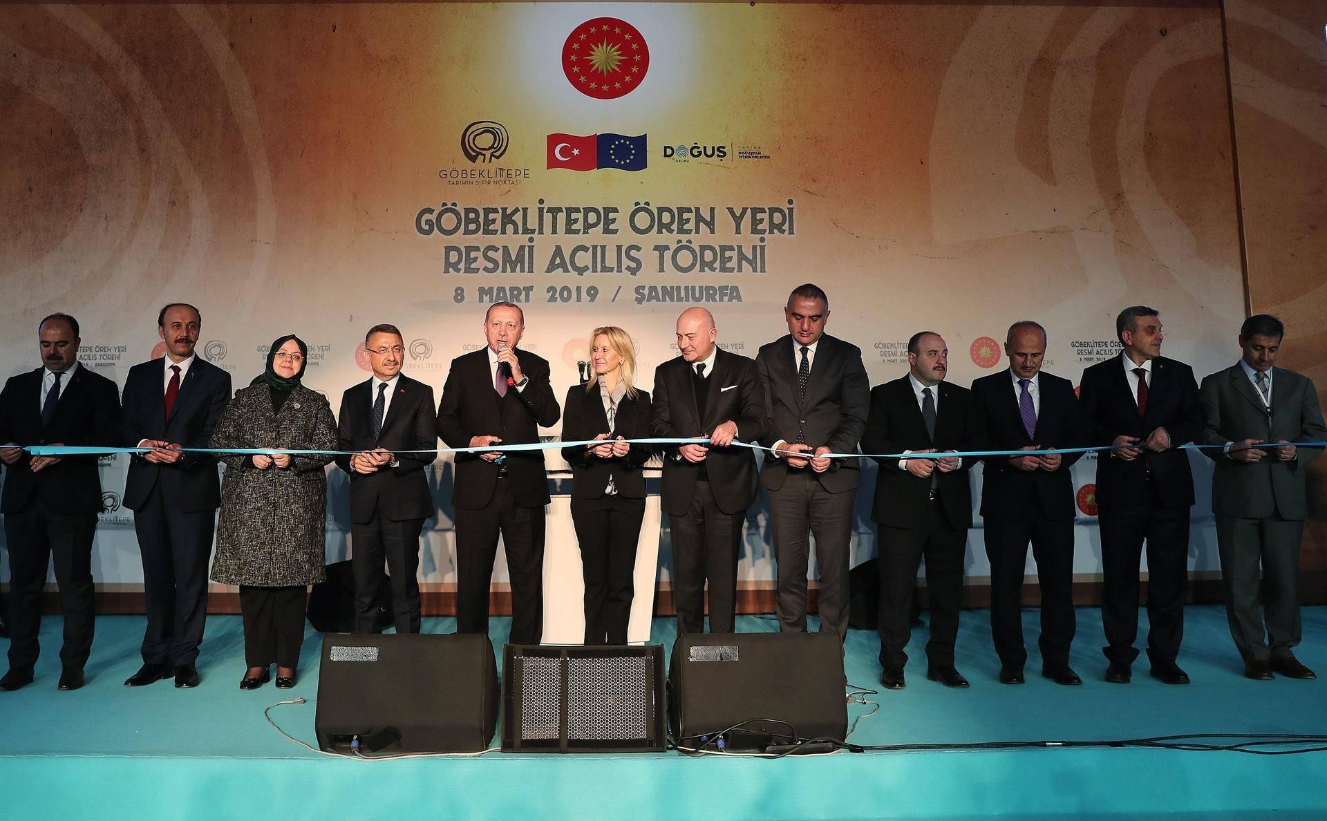 göbeklitepe erdoğan açılış