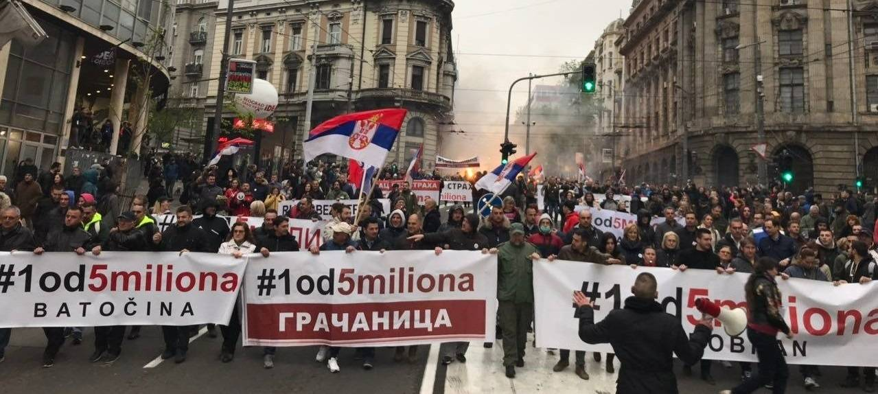 vucic belgrad protesto