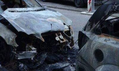 selanik yunanistan araç kundaklama konsolosluk