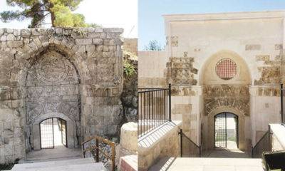 taç kapı restorasyon antalya