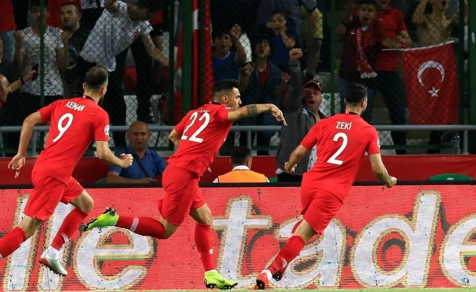 Türkiye Fransa Euro 2020