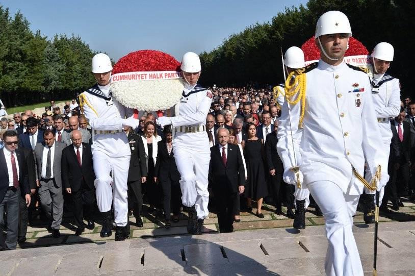 kemal kılıçdaroğlu anıtkabir ziyaret