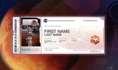 mars 2020 rover isim yazdırma