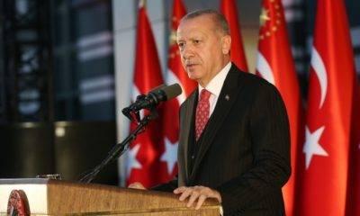 Erdoğan'dan Sivas Kongresi Mesajı