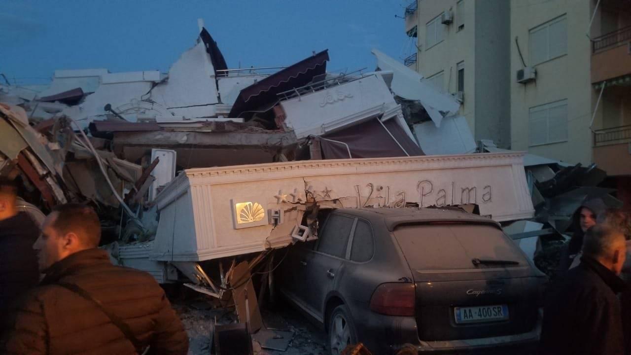 arnavutluk deprem