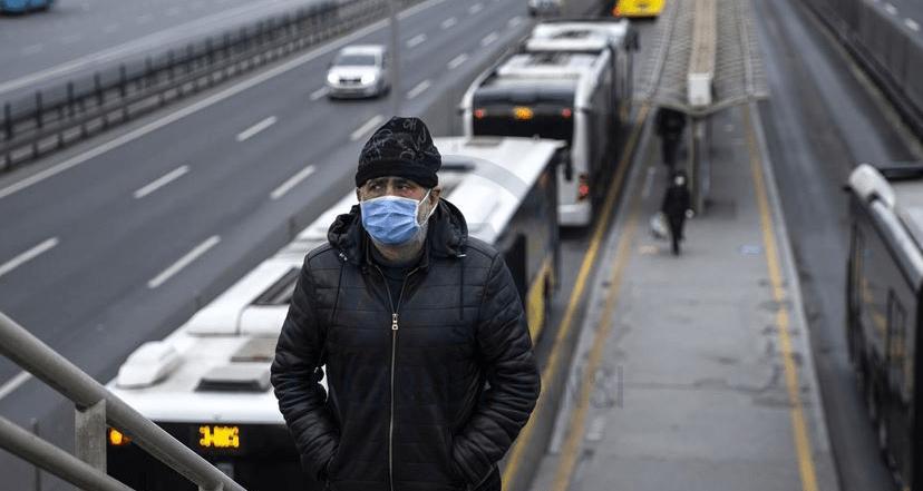 ücretsiz maske ptt toplu taşıma