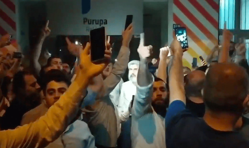 Adana'da komünist polis istemiyoruz sloganları