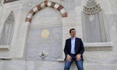 ekrem imamoğlu 3.ahmet çeşmesi sultanahmet