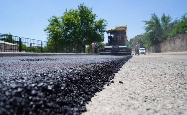 asfalt dökme yayalaştır