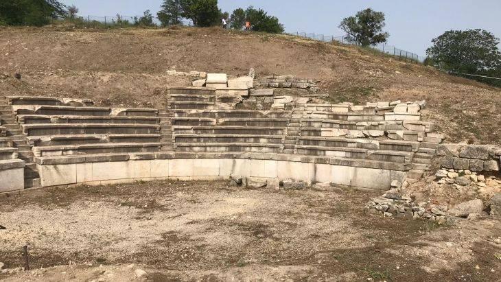çömlektepe antik tiyatro vize