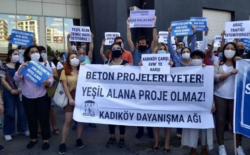 söğütlüçeşme avm gar protesto
