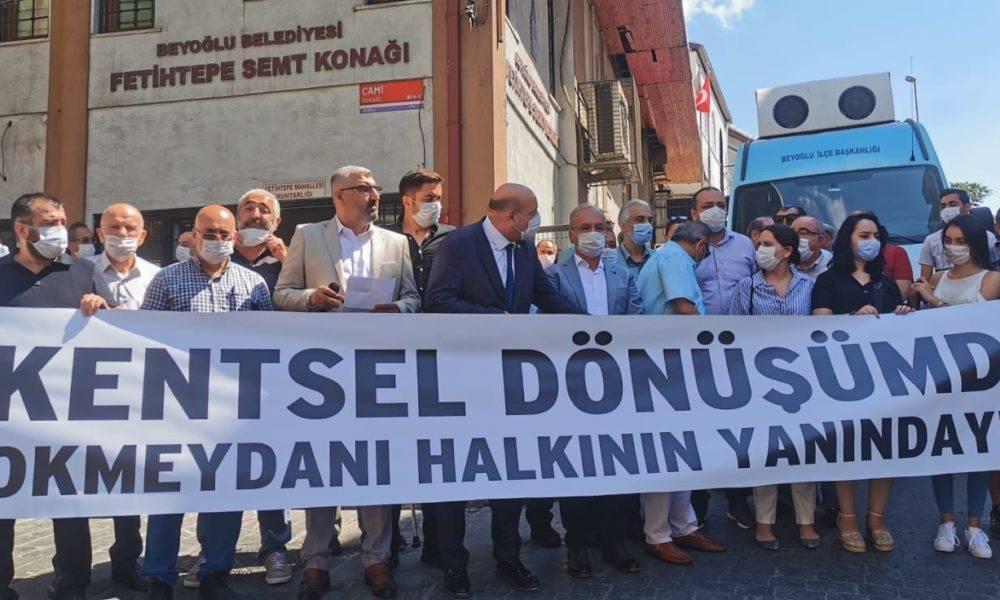 kentsel dönüşüm Beyoğlu