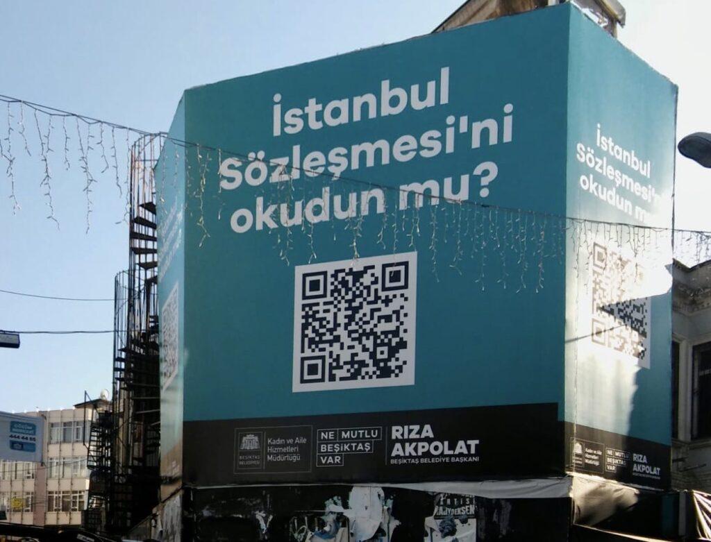 Beşiktaş Belediyesi istanbul sözleşmesi