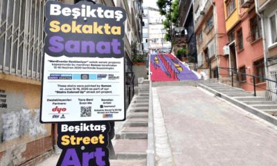 beşiktaş sokakta sanat