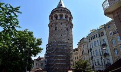 galata kulesi ebabil kuşları restorasyon