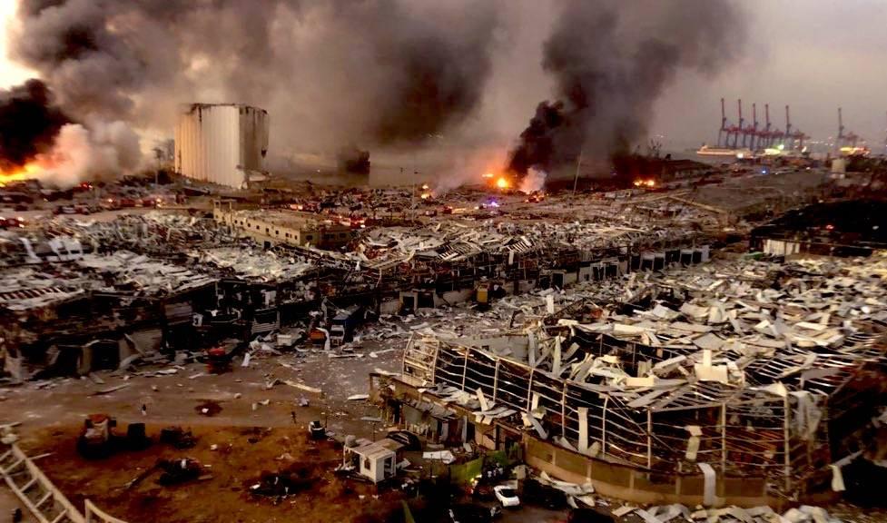 lübnan Beyrut patlama