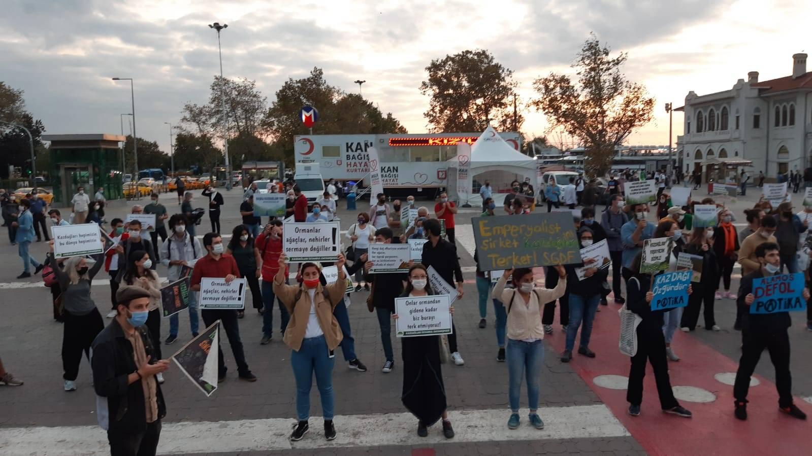 Kazdağları İstanbul dayanışması
