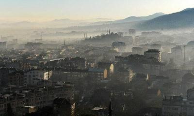 Istanbul'da hava kirliliği oranı