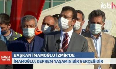 deprem ekrem Imamoğlu izmir ziyaret