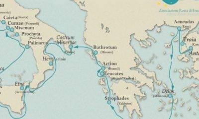 Aeneas kültür rotası projesi edremit belediyesi