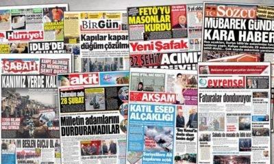 gazete tirajları en çok okunan gazeteler