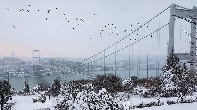 Orhan Şen kuraklık kar istanbul