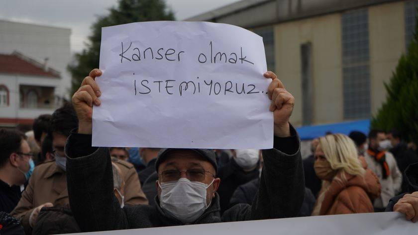 pınarhisar kalker maden Limak