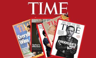 time dergisine kapak Olan Türkler