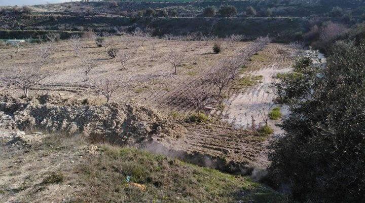 Çiftçilerin Arazisine Zarar Veren JES
