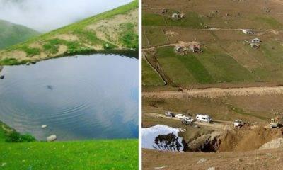 Dipsiz göl soruşturması Gümüşhane valisi