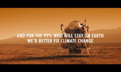 Fridays for future mars reklamı