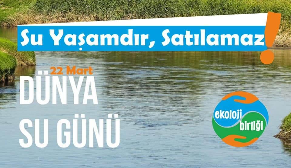 Ekoloji Birliği: 'Yeterli Ve Temiz Suya Erişim En Temel İnsan Hakkı'