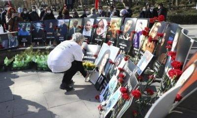 Güvenpark'taki terör saldırısında hayatını kaybedenler anıldı