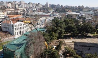 İBB'nin Korumak İstediği Osmanlı Mirası Yapıyı 'Bakanlık' Yıktı