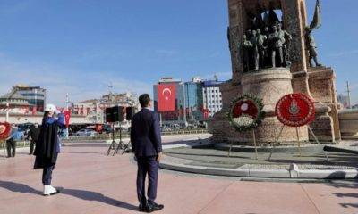 ekrem Imamoğlu 23 nisan tören taksim