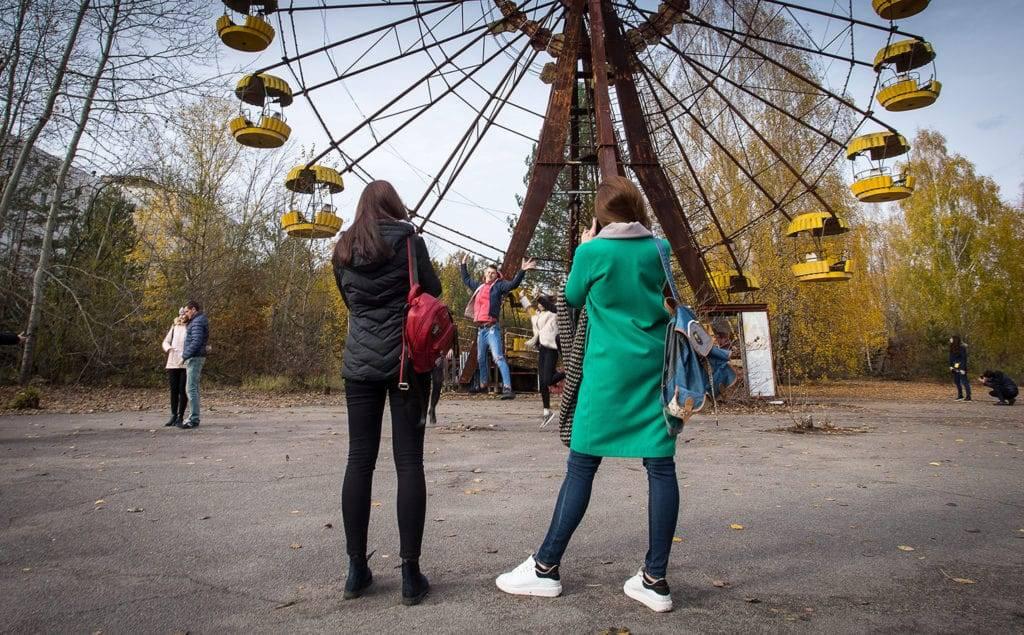 Çernobil nükleer santrali turistik