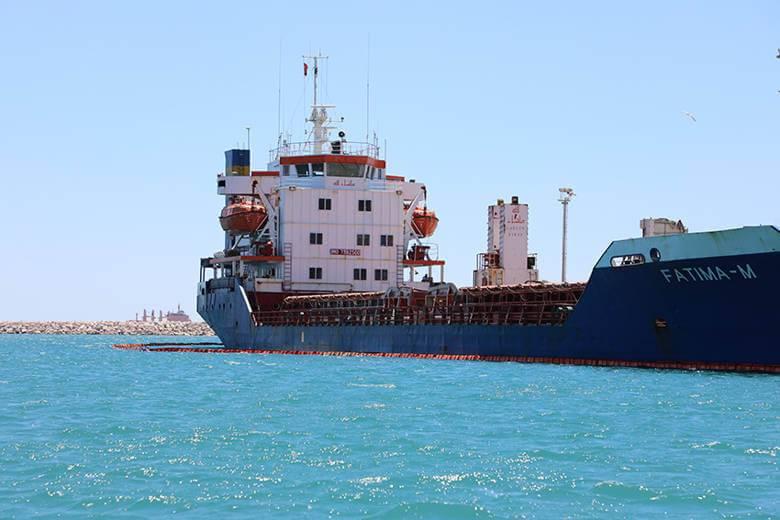 Denizi Kirleten Gemiye 1.5 Milyon Lira Ceza