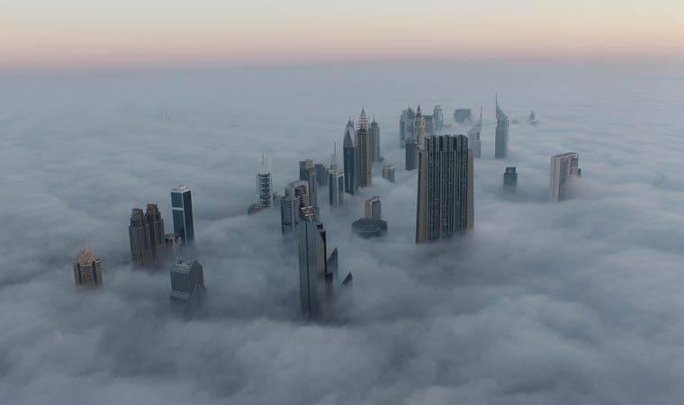 yapay yağmur Dubai