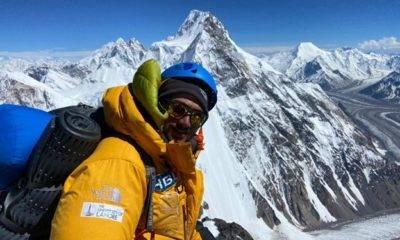 Shehroze Kashif pakistan k2 dağı en genç