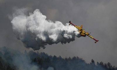 Avrupa Komisyonu Birliği yangın söndürme uçağı yardımı