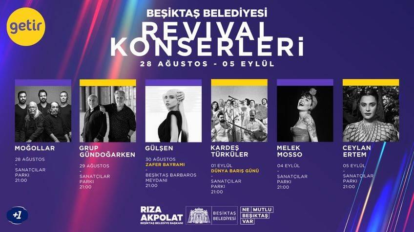 Revival Konserleri Beşiktaş Belediyesi