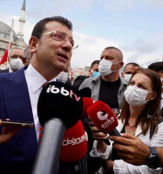 ekrem Imamoğlu taksim tören 30 ağustos