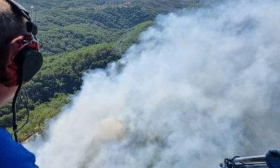 Kazdağları orman yangını